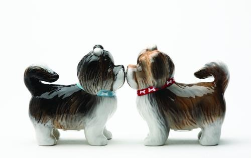 Sweet Shih Tzus Salt & Pepper Shaker Set S/P
