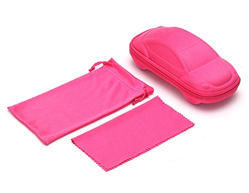Flowertree Kid's EVA Car Shape Eyeglasses Case Small Size - For Sale Eyeglass