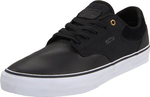 Etnies Mens Malto Ls Viersterren Skateschoen Zwart / Wit