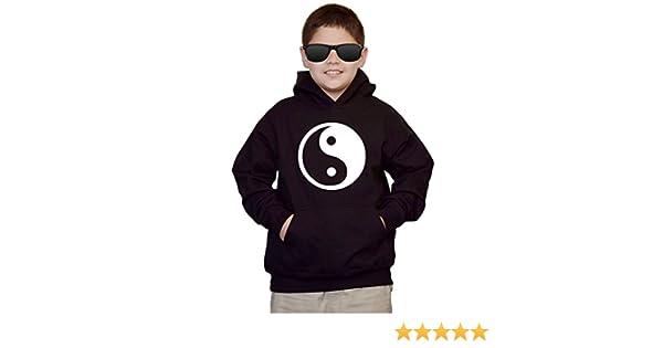 Youth Yin Yang V310 Black kids Sweatshirt Hoodie