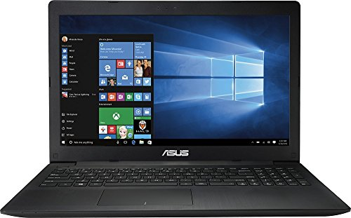 Asus X553SA-BHCLN10 15.6 Inch Laptop (Intel Celeron Processor 4GB 500 GB HDD Windows 10 Black)
