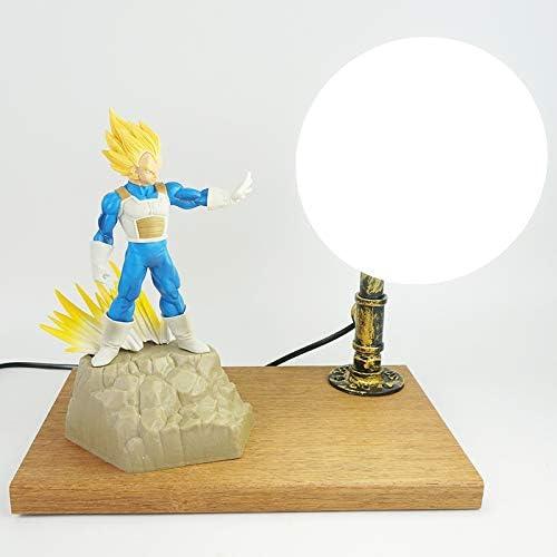 Anime Fan Cadeau Dragon Ball Z Lampe De Table Vegeta Dbz Lampe Anniversaire Cadeau Decoration Noel Cadeau Amazon Fr Luminaires Et Eclairage