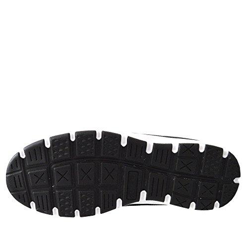 Kick Footwear Basisarbeit Herren Sicherheitsschuhe mit Stahlkappen Schwarz-Rot