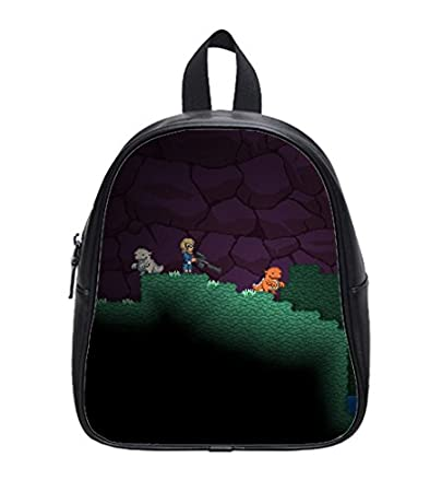 Amazon.com   Starbound Ship Pets Custom Kids School Backpack Bag(Small)    Baby 3052d3fc4d13d