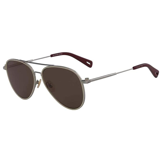 G-STAR RAW Gs122S Metal Brycan 718 58 Gafas de Sol, Light ...
