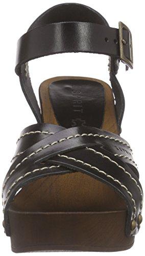 Esprit Cheri Sandal - Zuecos Mujer Negro - negro (001 black)