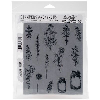 - Tim Holtz Cling Stamps 7
