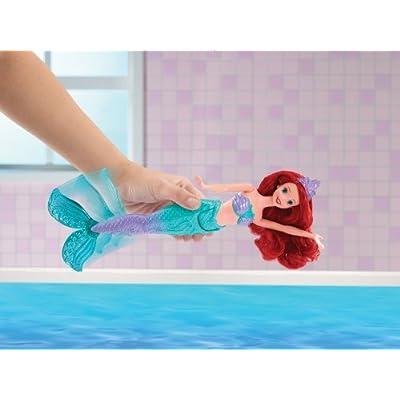 Disney Princess Swimming Mermaid Ariel Doll: Toys & Games