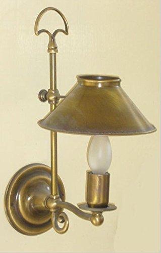 Sconto del 60% LAMPADE LINEA 'MARINA' LAMPADA A MURO MURO MURO APPLIQUE 'ROSSELLA' OTTONE SATINATO  Offriamo vari marchi famosi