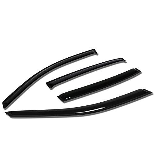 Chevy Malibu Sun Visors (Chevy Malibu Sedan 4pcs Tape-On Window Visor Deflector Rain Guard)