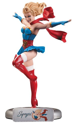 DC Collectibles DC Comics Bombshells Supergirl Statue