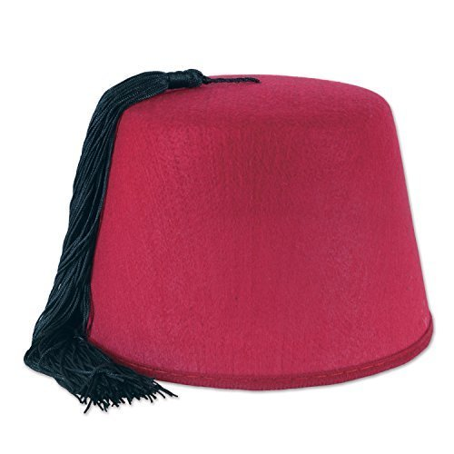 Beistle Felt Fez Hat