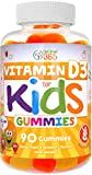 Vitamin D3 1000IU Pectin Gummy Vitamins for Kids (90 Day) by Feel Great 365 | 90 Gummies | Delicious Chewable Supports Healthy Bones, Teeth, Mood, Immune System Function* | Gluten Free & Non-GMO