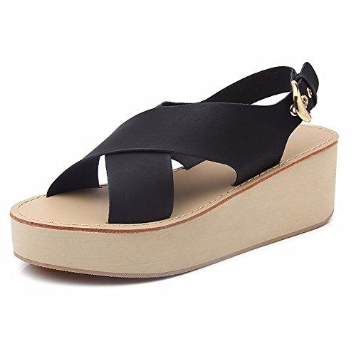 outdoor sandali ciabattine scarpe traspiranti punta Moda 37 seaside estate 38 beach YMFIE antislittamento xwEqfT