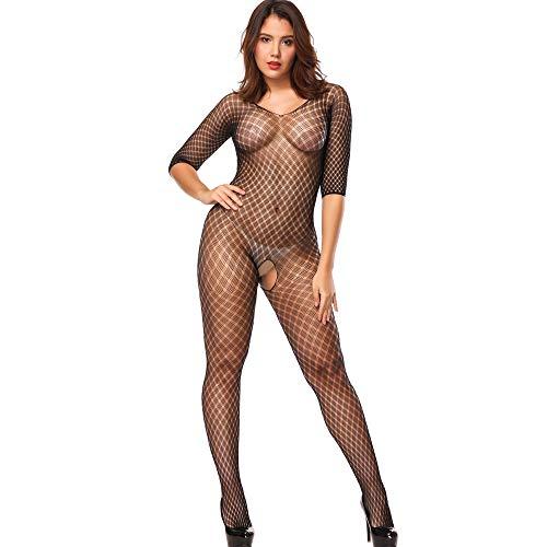 Dollar General Halloween Costumes 2019 (General Sexy Costumes Womens Mesh Chemise Dress Fishnet Lingerie Babydoll Nighties Minidress Perspective Lingerie (Black)