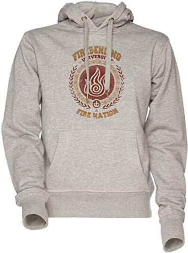 Femme Gris Hoodie À University Sweat Vendax Grey Unisexe Women's Firebending Sweatshirt Sweat Capuche Men's shirt Homme wIOwTAqv