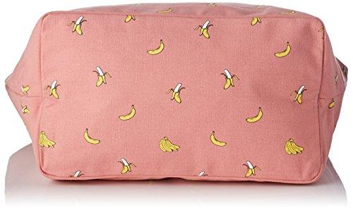 Petite Mendigote Damen Clea Clement Tote, Pink (Bonbon), 25x35x54 centimeters