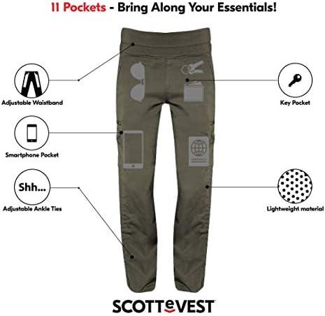 Women's Travel Pants SCOTTeVEST