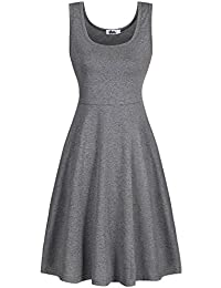Amazon.com: Grey - Dresses / Clothing: Clothing, Shoes & Jewelry