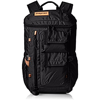 "JanSport Watchtower Laptop Backpack - 15"" (Black Ballistic Nylon)"