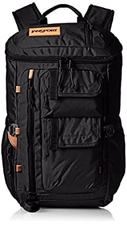 JanSport Mens Outside Specialty Watchtower Backpack - Black Ballistic Nylon / 20H X 11W X 7D