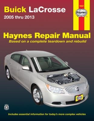 amazon com haynes repair manual for 2005 thru 2013 buick lacrosse rh amazon com 2009 Buick Lacrosse 09 Buick Lacrosse
