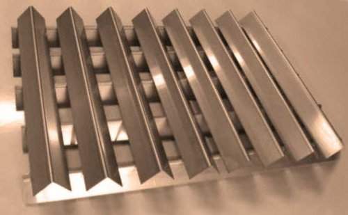 RiversEdge Products Stainless Flavorizer Bars, Set of 13, 16 Gauge, 7538, 15.88'' 23.38'' by RiversEdge Products (Image #3)