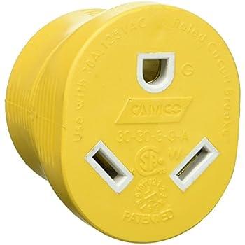 L5-30R Connector - NEMA L5-30 Locking Power Cord Connector