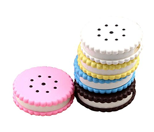 Acuvue 2 Contact Lenses - 2 Of Cookie Shaped Contact Lenses Box Holders, Random Color