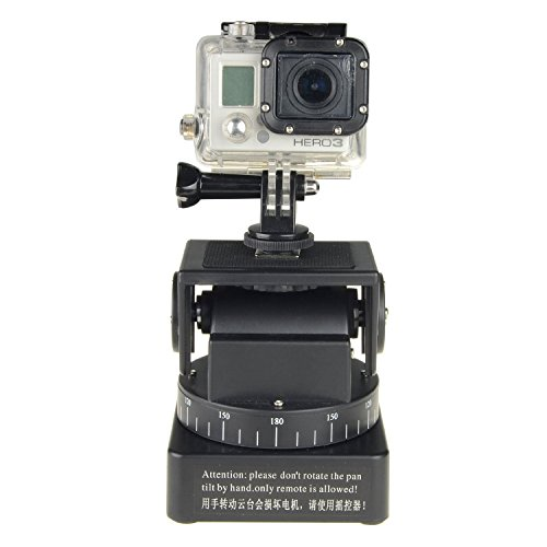 Jfoto zifon remote control automatic motorized rotating for Motorized video camera mount