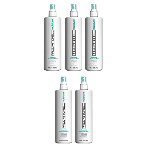 Paul Mitchell Awapuhi Moisture Mist Hair Spray, 16.9 Fl Oz (5 pack) by byPaul Mitchell