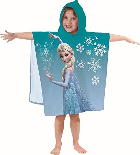 Disney die Eiskönigin Bade Poncho 60 x 120 cm Elsa, Anna, Olaf 100% Baumwolle 149
