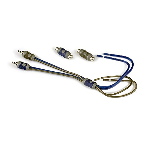 Kicker KISL 2-Channel K-Series Speaker Cable to RCA Adapter