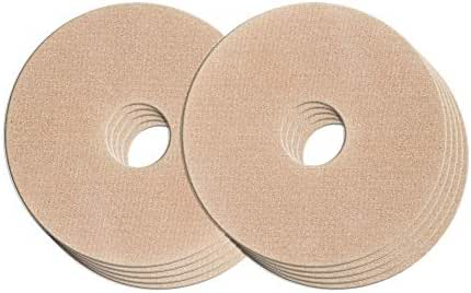 Epi-Derm Areola Circles - 3 x .75 in - (5 pair) (Natural) Silicone Scar Sheets from Biodermis
