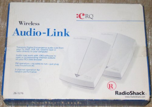 RadioShack Wireless Audio-Link :CRQ (Radio Shack Router Wireless)