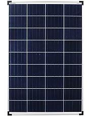 Enjoyolar® solar module Poly 100W 12V pannello solare ideale per camper, casa giardino, barca ...