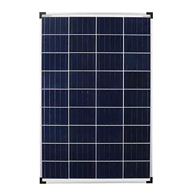 Enjoyolar® solar module Poly 100W 12V pannello solare ideale per camper, casa giardino, barca …
