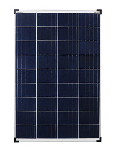 solar modul poly 100w 12v solar panel ideal f r wohnmobil. Black Bedroom Furniture Sets. Home Design Ideas