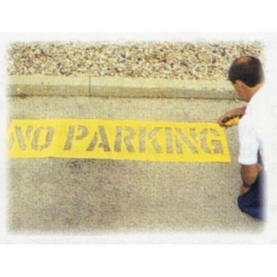 No Parking Stencils - C.H. Hanson - No Parking Stencil Kits