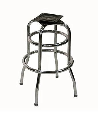 Terrific American Tables Seating Sr Cf 2 Ring Chrome Frame Swivel Bar Stool Base Welded 1 Chrome Plated Round Steel Tubing 14 X 14 X 25 Spiritservingveterans Wood Chair Design Ideas Spiritservingveteransorg