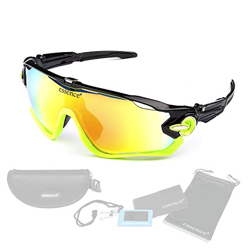 essence' Polarised Sports Sunglasses Polarized UV400 Protection Cycling...