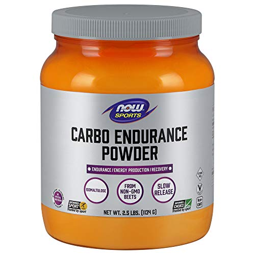 Now Sports Nutrition, Carbo Endurance Powder (Isomaltulose), 2.5-Pound