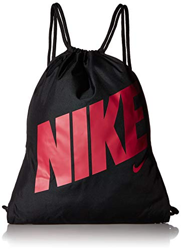 Nike Kids' Youth Gymsack-GFX Bag, Black/Rush Pink, One Size