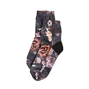 STANCE Women's Dark Blooms Anklet Socks, Black, Medium