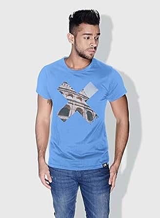 Creo Rome X City Love T-Shirts For Men - L, Blue