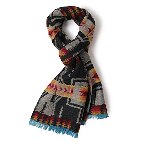 パラメータ良心拷問暖かく、落書きを保つために秋と冬のスカーフ竹繊維のブレンドを作る装飾的なジャカード
