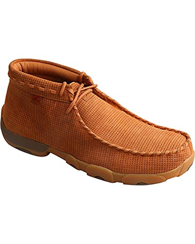 Twisted X Men's Saddle Lace-Up Driving Mocs