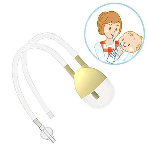 Nose Cleaner - New Born Baby Safety Nose Cleaner Vacuum Suction Nasal Aspirator Bodyguard Flu Protection Accessories BM - Nasal Aspirator -