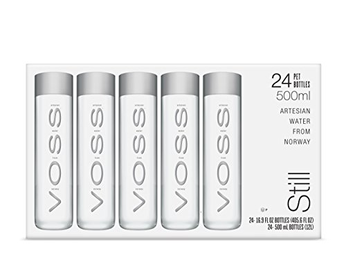 VOSS Artesian Still Water, 500 ml Plastic Bottles (Pack of 24) -