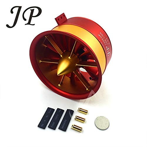 - Kamas RC Air Plane 50V, 142A,7100W,9.3KG JP120mm EDF Ducted Fan 12Blades with 5060 Motor 750KV All Set - (Color: CCW EDF 12S)